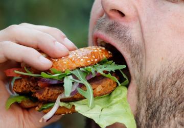 Fancy a buffalo worm burger?