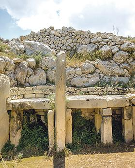 "Ġgantijia is the oldest free-standing temple in the world; it's even older than Stonehenge. ""When I said this to a group of well-educated Maltese people, they looked at me like I had just proclaimed that a can of tuna was the second coming of Christ."""