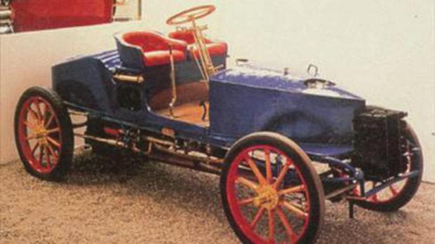 A Gardner-Serpollet of the type driven in the Paris-Madrid Race.