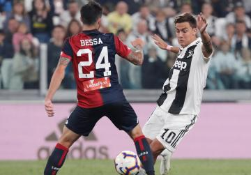 Juventus' perfect run ended by Genoa