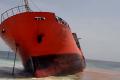 Mystery ship runs aground in Liberia