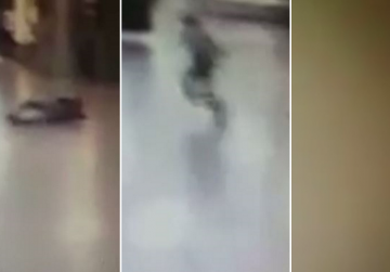Watch: Police officer shoots Istanbul bomber, escapes with seconds to spare