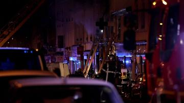 Mother and child die in French fire following bakery blast
