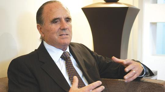"""Corinthia Group chairman Alfred Pisani: """"Libya has awarded over 70 oil exploration contracts. There will be a huge influx of overseas personnel."""" (Photo: Chris Sant Fournier)"""