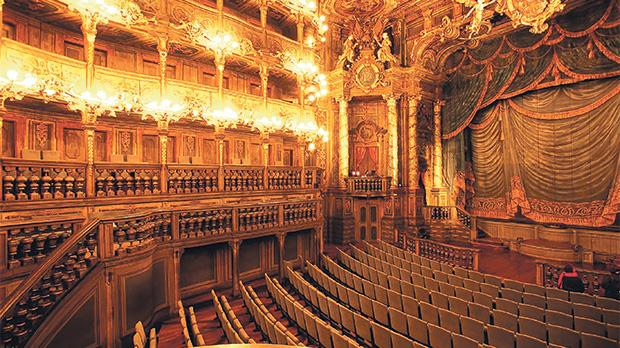 Margravial Opera House in Bayreuth. Photo: Bayreuth Marketing & Tourismus