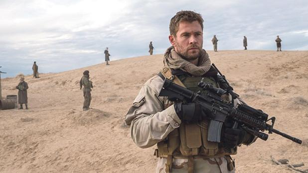 Chris Hemsworth is on an extremely dangerous mission in 12 Strong.