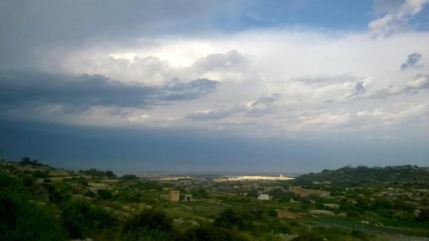 The town of Siggiewi is seen from Girgenti on May 10. Photo: Chris Sant Fournier