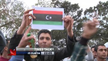Are the Libyans residing in Malta a real or a perceived threat?