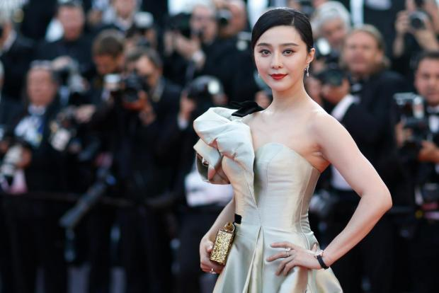 "Screening of the film ""Ash Is Purest White"" (Jiang hu er nv) in competition - Red Carpet Arrivals - Cannes, France, last May. Fan Bingbing poses. Photo: Reuters"