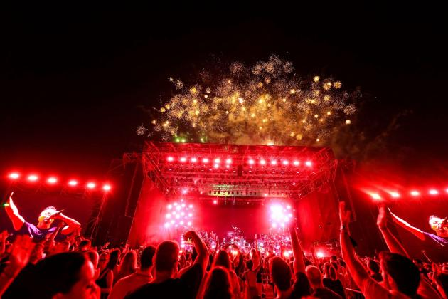 Moments from Pete Tong Classics concert on the Floriana Granaries