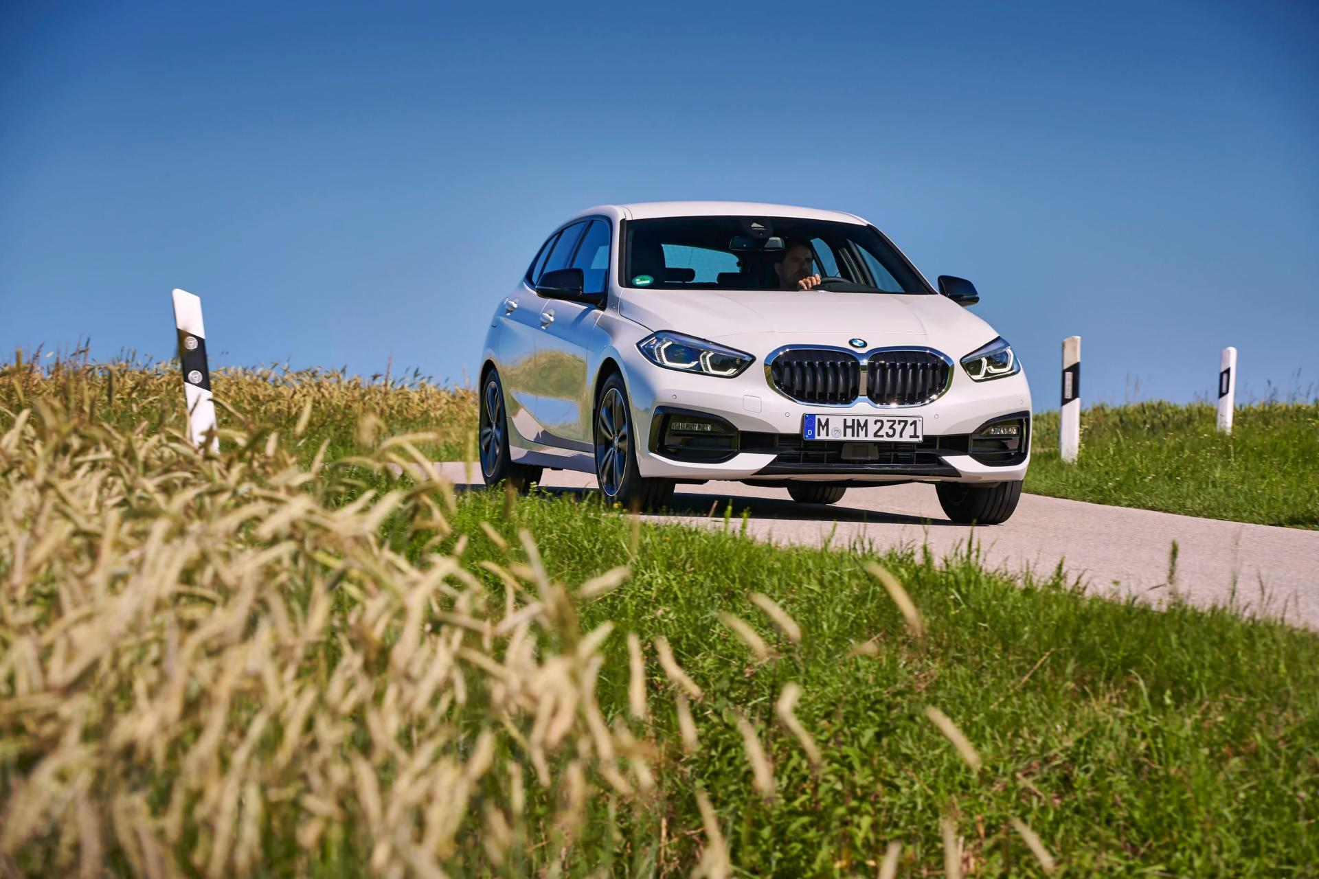BMW's 1 Series has made the switch to front-wheel-drive.
