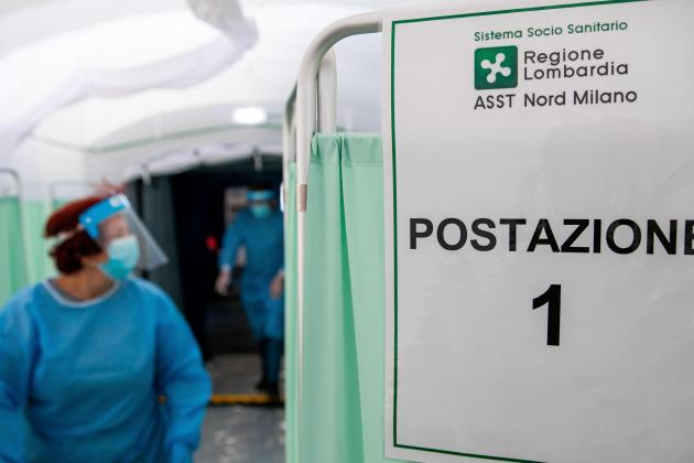 Italy to launch virus vaccination campaign in January