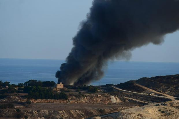 Image result for Magħtab waste facility casts dark cloud