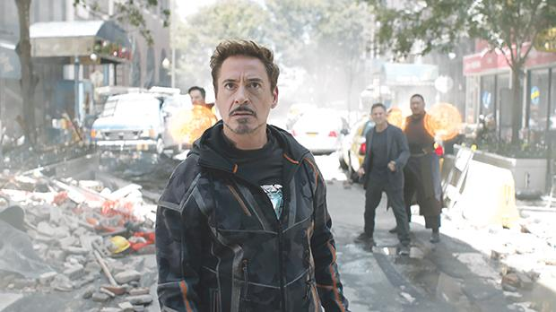 Robert Downey Jr joins forces with fellow superheroes in Avengers: Infinity War.