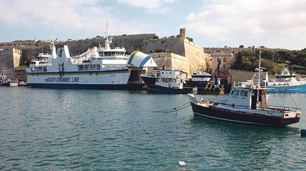 "Slow boat to Malta: The Gozo-Valletta service was discontinued in 2015 but it was ""so much better than taking the ferry to Ċirkewwa and then frustratingly driving for 45 minutes"". Photo: Myriam Thyes"