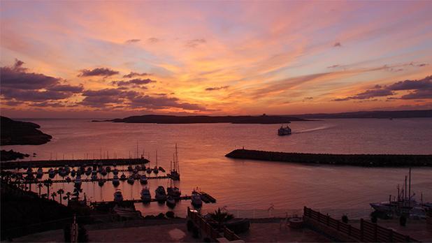 Sunrise in Gozo. Photo: Saviour Brincat