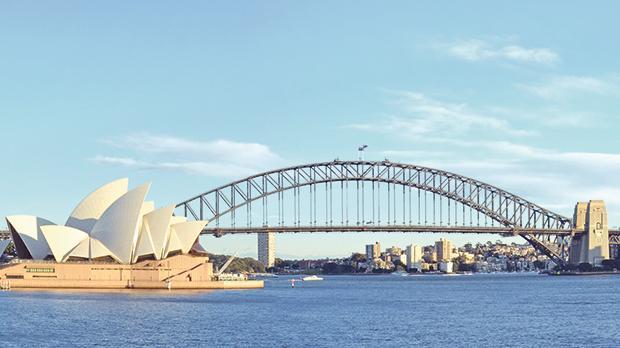 Sydney skyline.