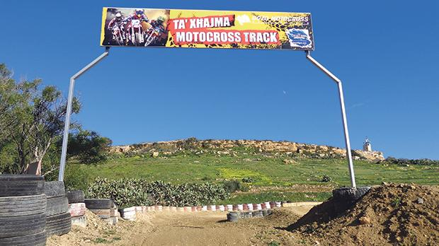 The Nadur tunnel exit is expected to burst through Gozo's motocross track, built on the clay slopes in fields surrounding the village. Photo: Anne Zammit