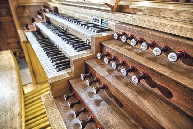 Enjoy music from the 'king of instruments' – the organ