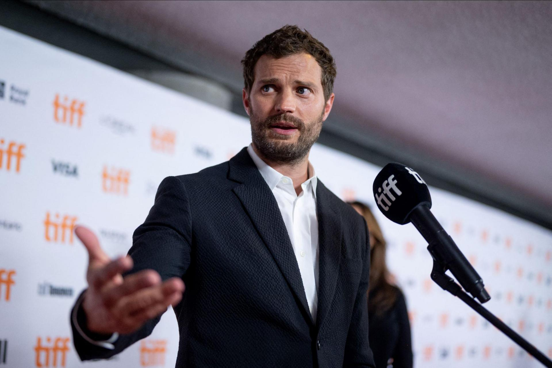 Jamie Dornan attends the 'Belfast' Premiere. Photo: Emma Mcintyre/Getty Images North America/Getty Images via AFP