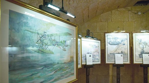 An art exhibition by painter Raymond Dominic Agius forms part of the Heritage and History Fair.