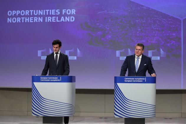 EU won't accept UK's N.Ireland Brexit red line: Ireland
