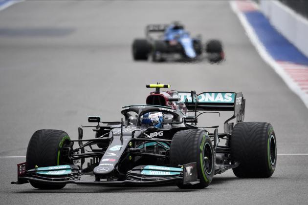Mercedes task Bottas with frustrating Verstappen in Russian GP