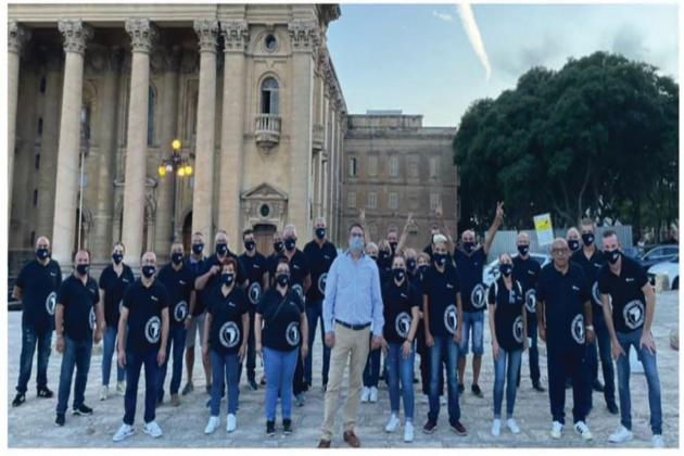 Adrian Delia denies 'show of force' at PN rally