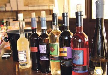 Omodos – great selection of wines.