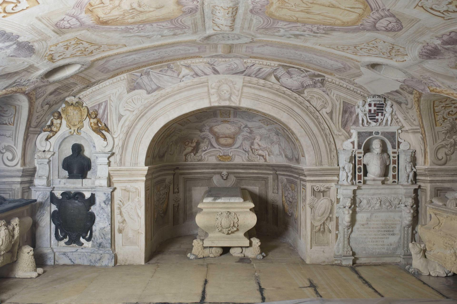The Grand Master's Crypt at St John's Co Cathedral Winner of the Din l-Art Helwa PRIX D'HONNEUR in the category Restoration and Conservation