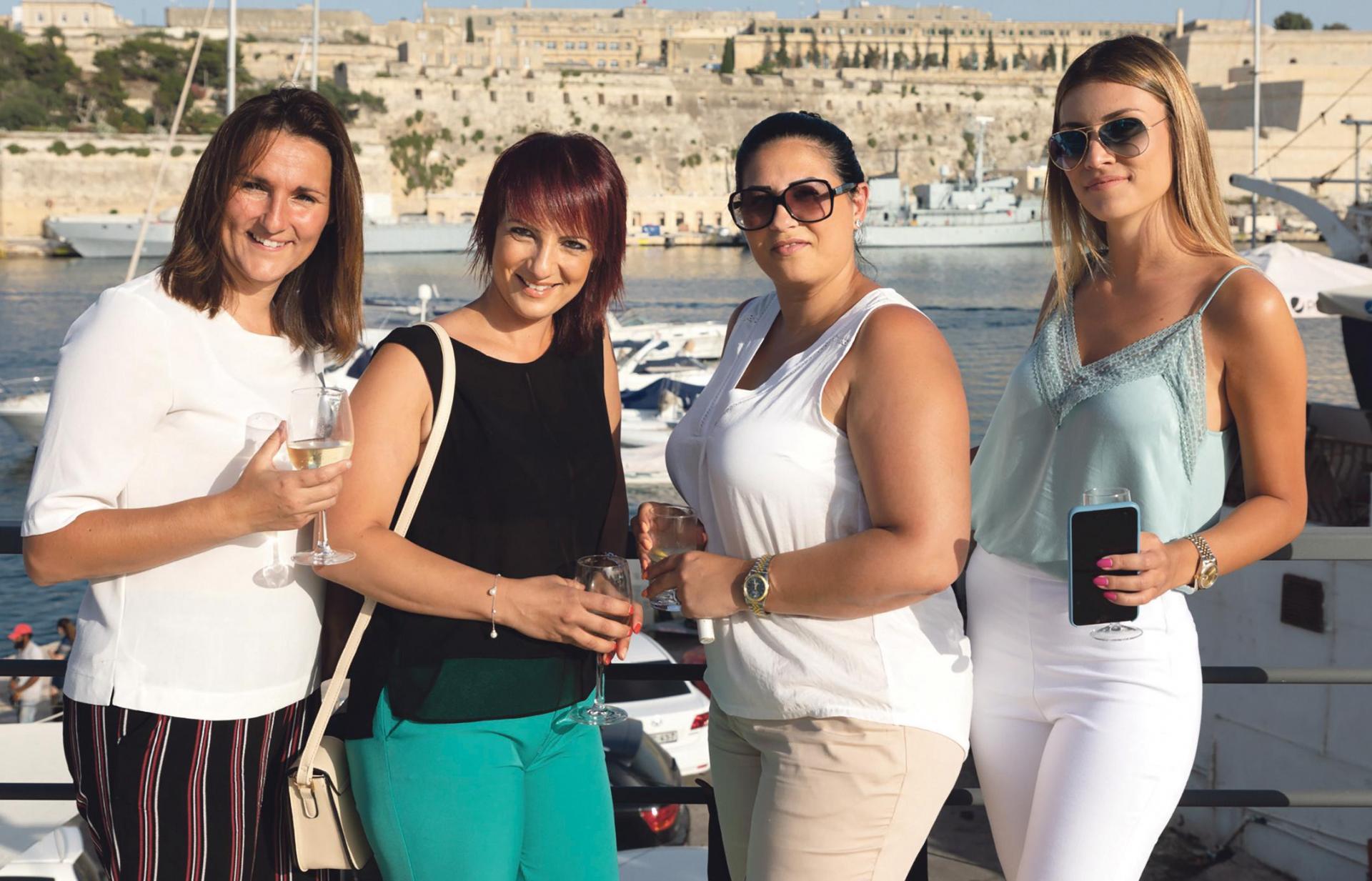 Dionne Tonna, Lyndsey Vella, Loredana Lapira and Andrea Veselji.