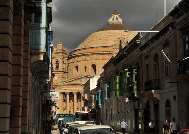 The Mosta dome on October 11. Photo: Chris Sant Fournier