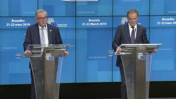 Deal, no-deal, delay or no Brexit?  | Tusk: 'Still a lot of space in hell' for Brexiteers without plan.
