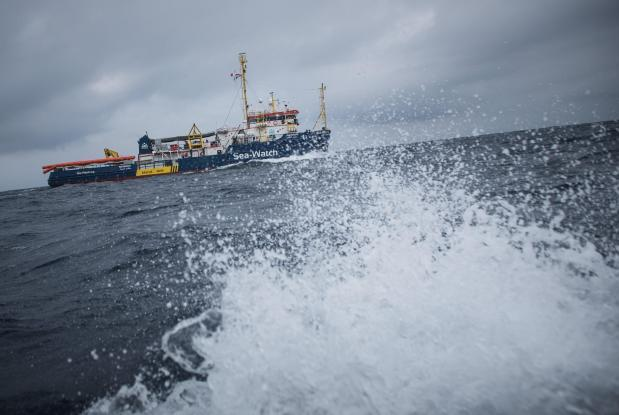Sea-Watch 3 when it was in Maltese waters