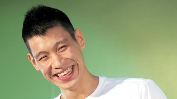 Jeremy Lin during a meeting with fans in Taipei yesterday.