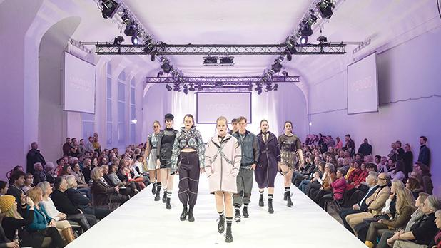 Runway modelling could potentially be considered a performance by other persons who perform interpretations of artistic works. Photo: AFP