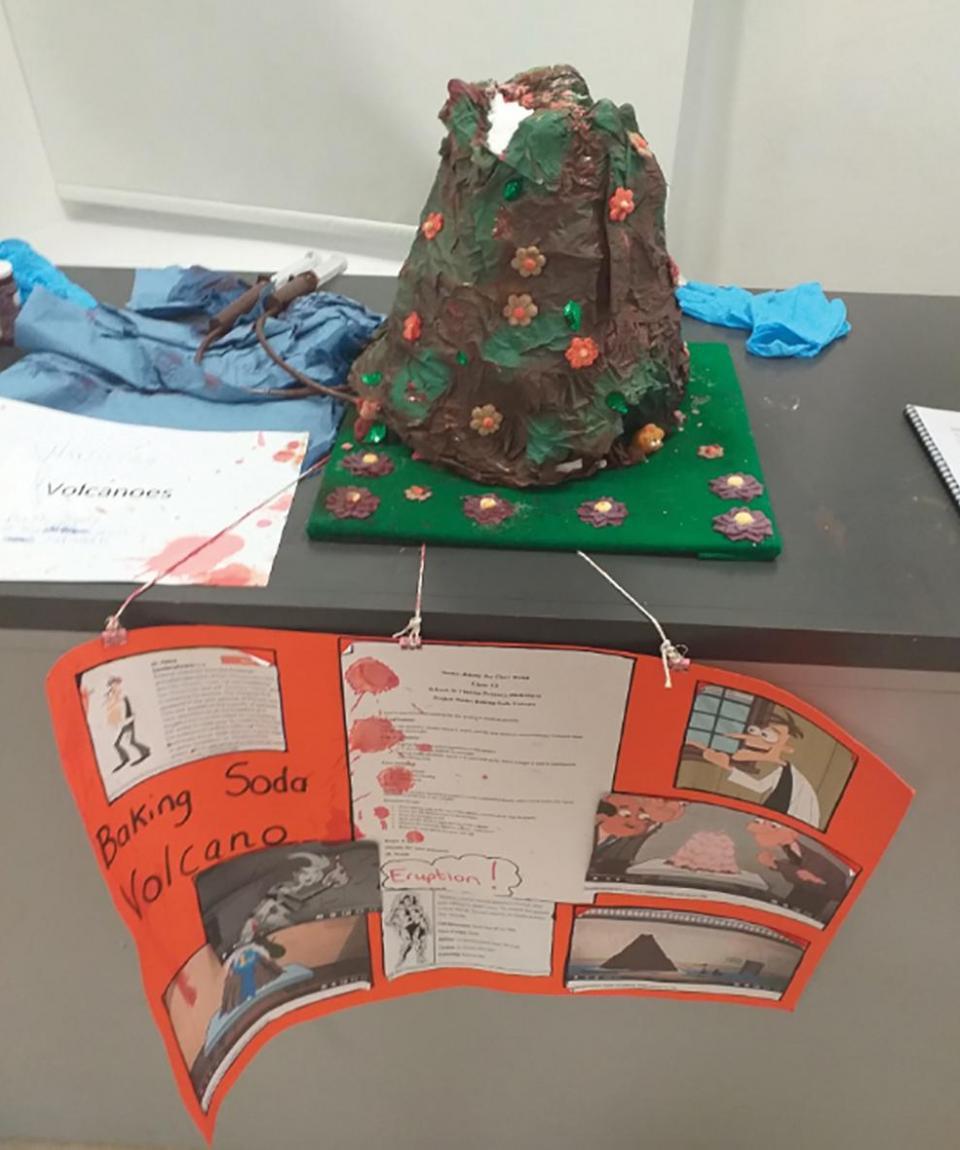 Baking Soda Volcano by Jimmy Jay Chev Welsh from Birkirkara Primary School
