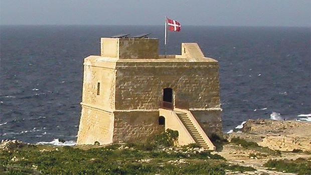 Dwejra Tower in Gozo