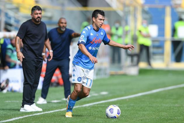 Six-goal Napoli sweep past Genoa, AC Milan beat Crotone