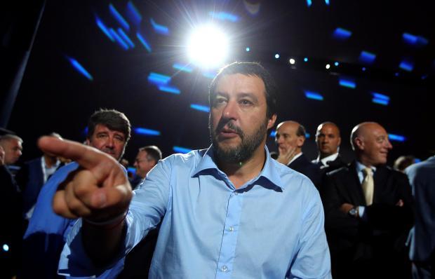 Interior Minister Matteo Salvini.