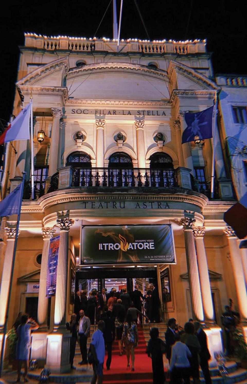 The façade of Teatru Astra in Victoria