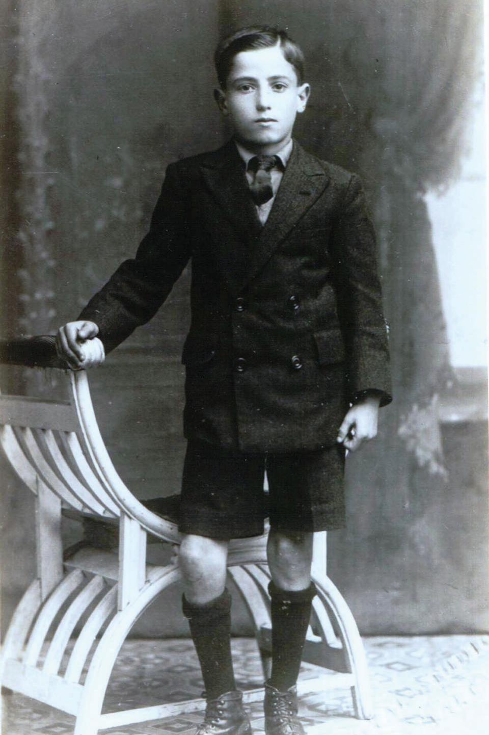 Dimech circa nine years old in 1870.