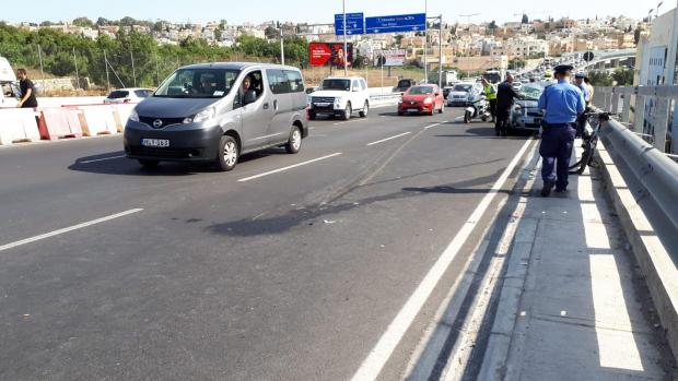 The incident happened on the new Kappara junction.