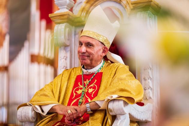 Anton Teuma consecrated as Gozo Bishop