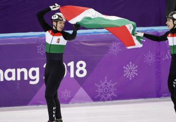 Hungary storm to first Winter Games gold