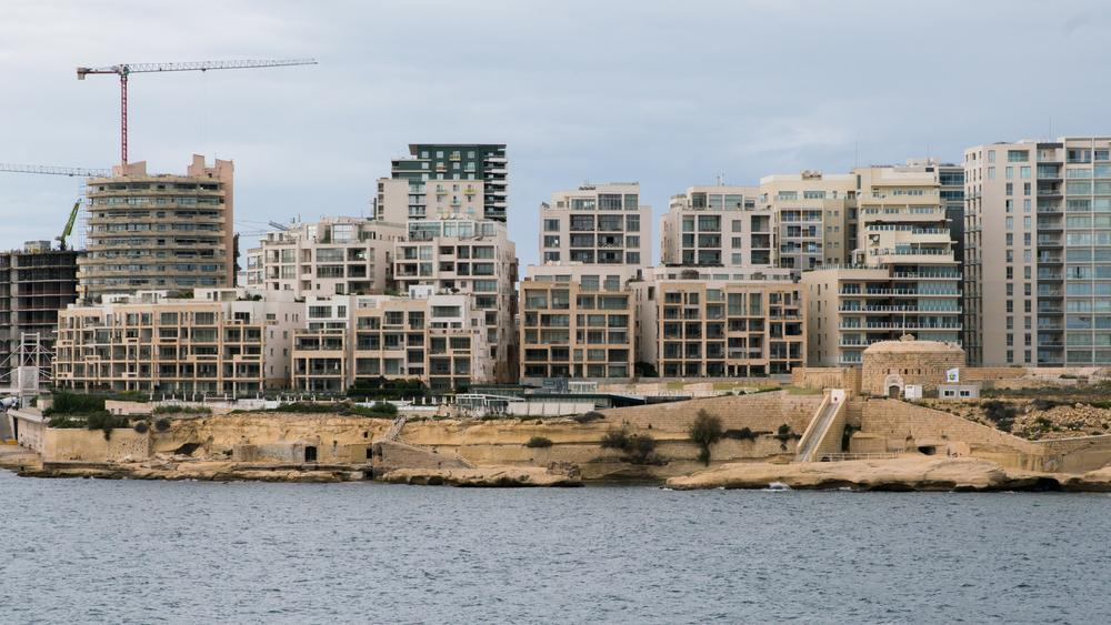 Sliema's skyline: Saliba argues there is no point in harking back to nostalgia. Photo: Shutterstock