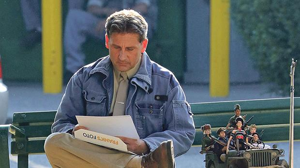 Steve Carrell retreats into an imaginary town in Welcome to Marwen.