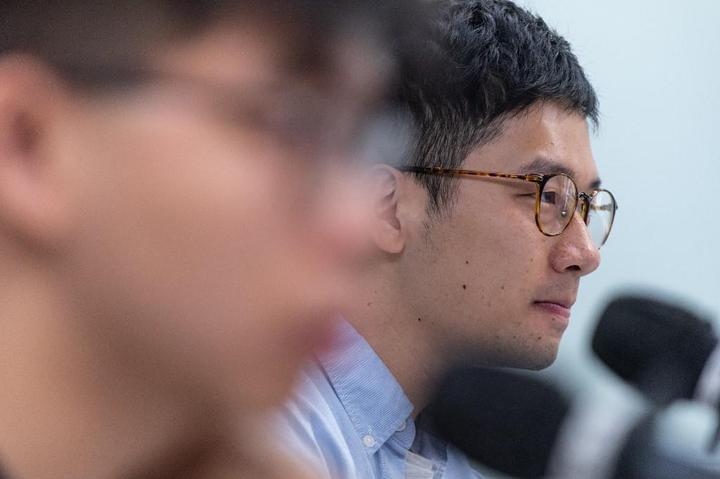 Democracy activist Nathan Law fled Hong Kong for the UK. Photo: AFP