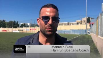Watch: Blasi ready to test himself at Ħamrun Spartans  | Video: Mark Zammit Cordina