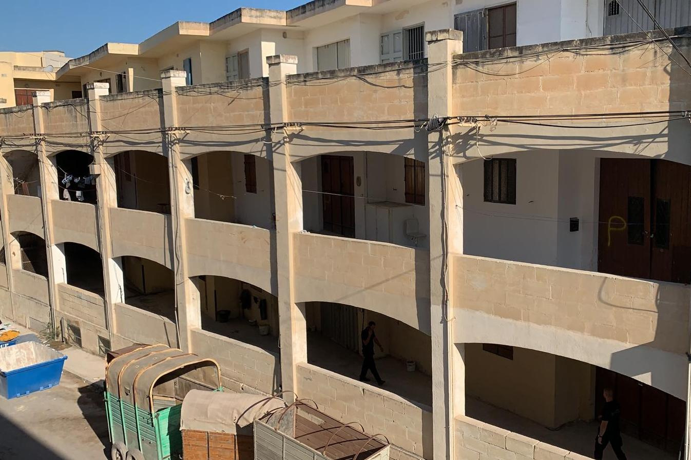 Marsa's 'horse hotel' has been home to dozens of migrants. Photo: Ivan Martin